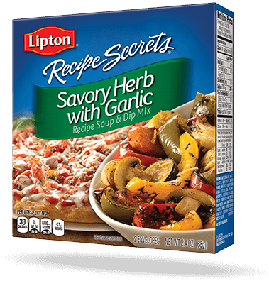Savory Herb & Garlic Recipe Soup & Dip Mix