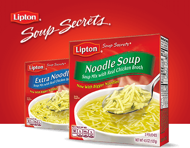 Lipton Soup Secrets