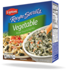 Vegetable Recipe Soup & Dip Mix